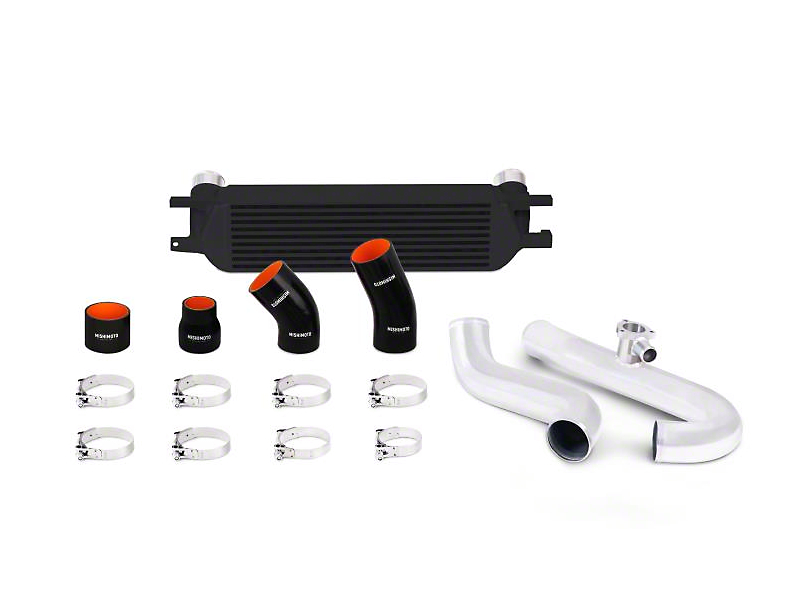 Mishimoto Black Performance Intercooler Kit w/ Polished Pipes (15-18 EcoBoost)