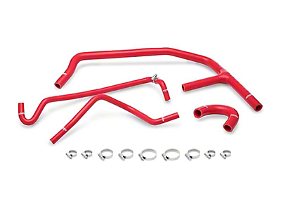 Mishimoto Silicone Ancillary Hose Kit - Red (15-19 EcoBoost)