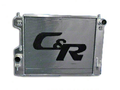 C&R Racing Extruded Tube Radiator (12-13 BOSS 302)