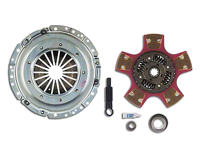 Exedy Mach 600 Stage 4 Clutch w/ Paddle Style Disc - 10 Spline (Late 01-04 GT; 99-04 Cobra; 03-04 Mach 1)