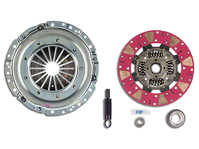 Exedy Mach 600 Stage 4 Clutch w/ Cushion Button Disc for Tremec Transmissions - 26 Spline (Late 01-04 GT; 99-04 Cobra; 03-04 Mach 1)