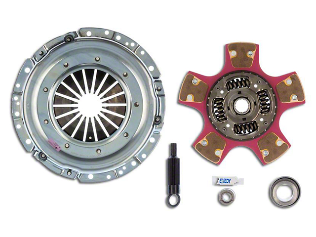 Exedy Mach 600 Stage 4 Clutch w/ Paddle Style Disc for Tremec Transmissions - 26 Spline (Late 01-04 GT; 99-04 Cobra; 03-04 Mach 1)