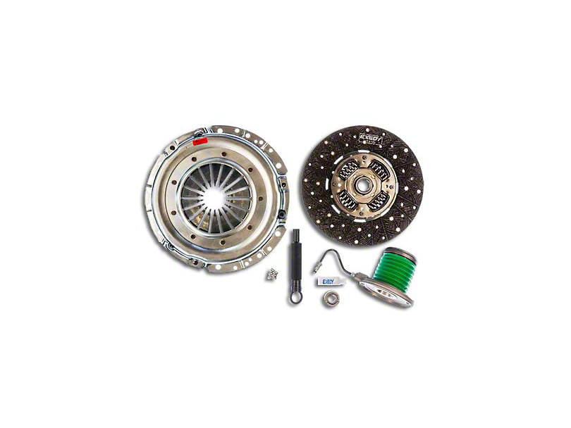Exedy Mach 400 Stage 2 Organic Clutch Kit w/ Hydraulic Throwout Bearing - 26 Spline (05-10 GT)