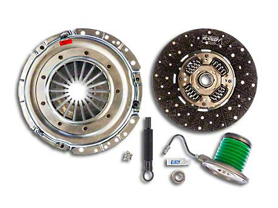 Exedy Mach 400 Stage 2 Clutch w/ Hydraulic Throwout Bearing - 26 Spline (05-10 GT)