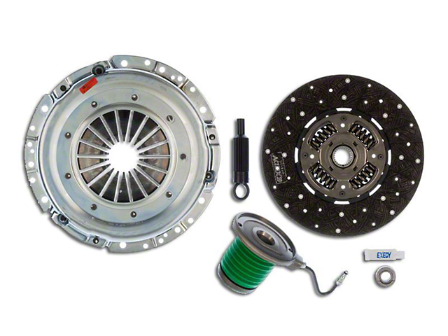 Exedy Mach 500 Stage 1 Organic Clutch Kit with Hydraulic Throwout Bearing; 26 Spline (05-10 GT)