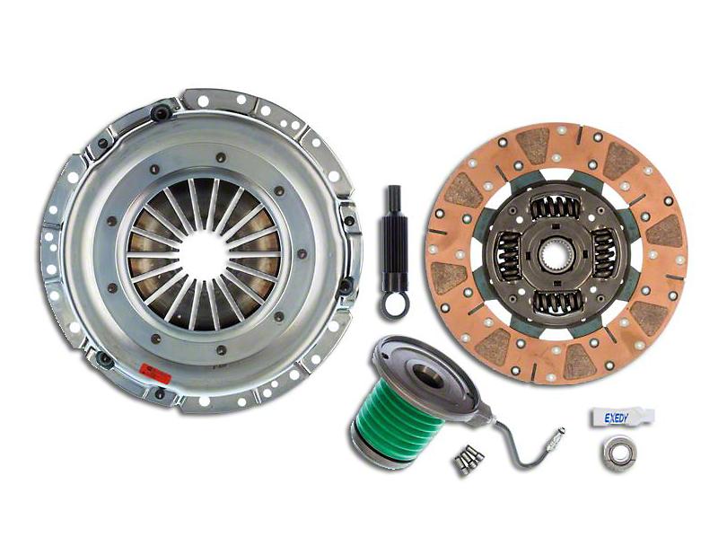 Exedy Mach 600 Stage 4 Clutch w/ Hydraulic Throwout Bearing & Cushion Button Disc - 26 Spline (05-10 GT)