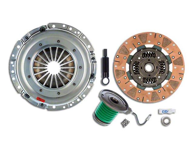 Exedy Mach 600 Stage 4 Cerametallic Clutch Kit w/ Cushion Button Disc & Hydraulic Throwout Bearing - 26 Spline (05-10 GT)