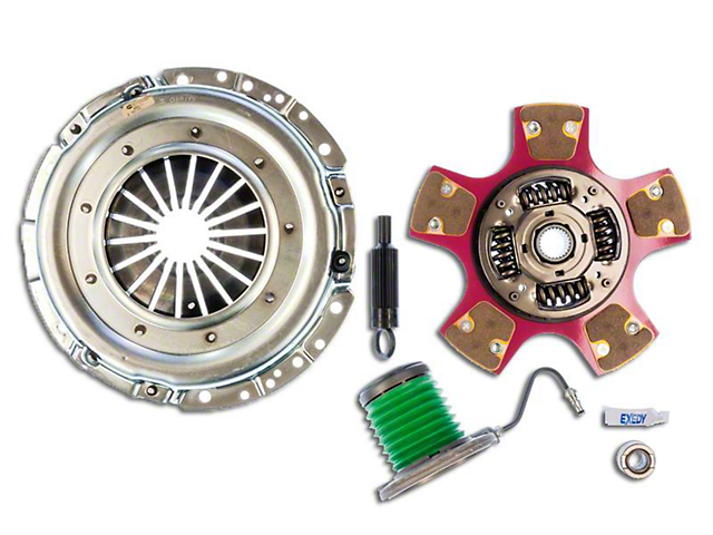 Exedy Mach 600 Stage 4 Clutch w/ Hydraulic Throwout Bearing & Paddle Style Disc - 26 Spline (05-10 GT)