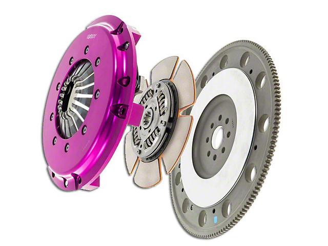 Exedy Hyper Single Disc Clutch Kit w/ Flywheel - 10 Spline (99-Mid 01 GT; 96-04 Cobra, Mach 1)