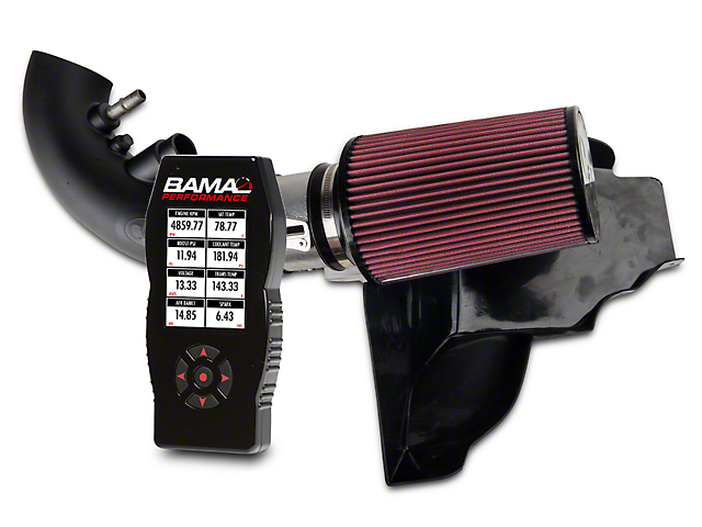C&L Street Cold Air Intake with 95mm MAF and BAMA X4/SF4 Power Flash Tuner (11-14 GT)