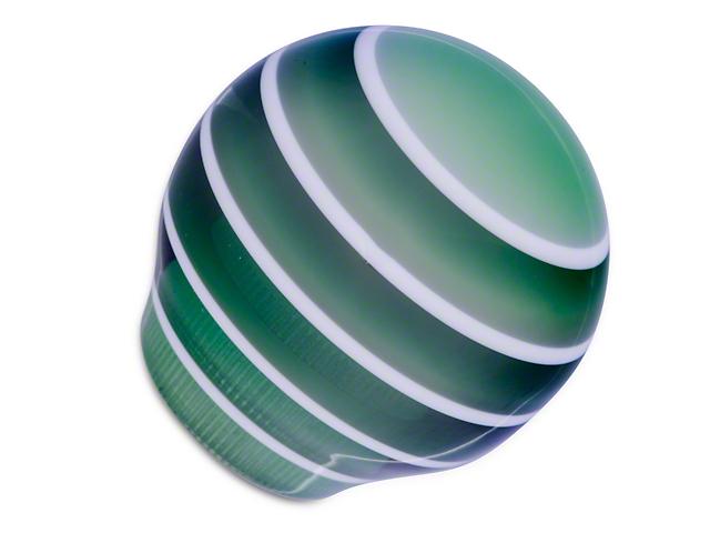 Alterum Green Stripe Shift Knob (79-04 All)