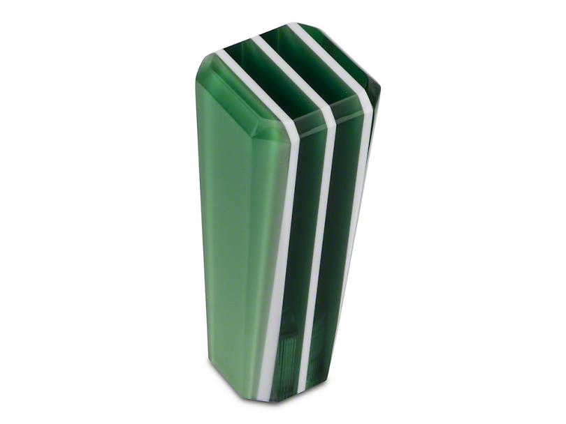Alterum Green Stripe Stix Shift Knob (79-04 All)