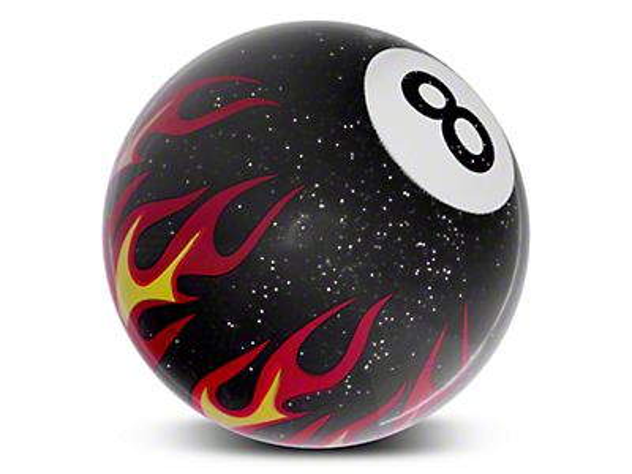 Alterum Black 8 Ball Flame Shift Knob (79-04 All)