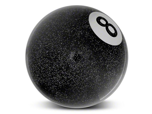 Alterum Black 8 Ball Metal Flake Shift Knob (79-04 All)