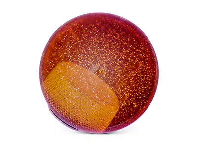 Alterum Orange Metal Flake Shift Knob (05-18 GT, EcoBoost, V6; 07-09 GT500)