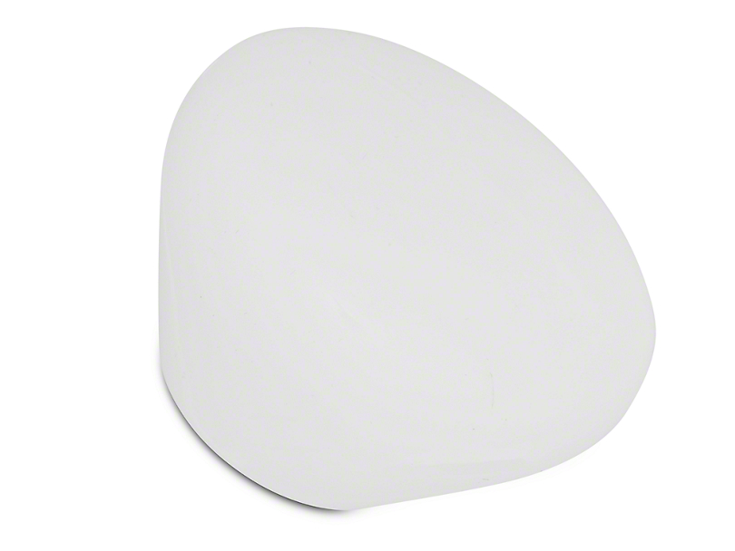 Alterum White Retro Mushroom Shift Knob (05-18 GT, EcoBoost, V6; 07-09 GT500)