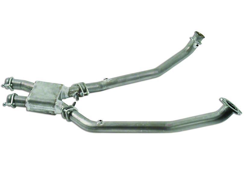 MAC Stainless Steel Off-Road Pro Chamber Mid Pipe (96-98 Cobra)