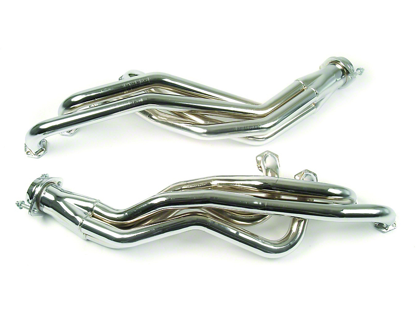 MAC 1-5/8 in. 351W/5.8L Swap Chrome Long Tube Headers (79-93 w/ Manual Transmission)
