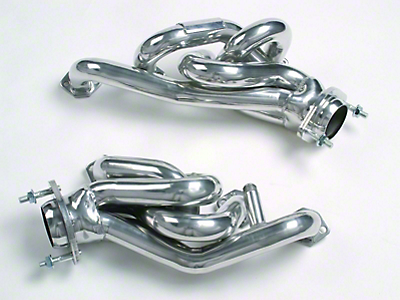 MAC 1-5/8 in. Equal Length Polished Ceramic Shorty Headers (94-95 5.0L)