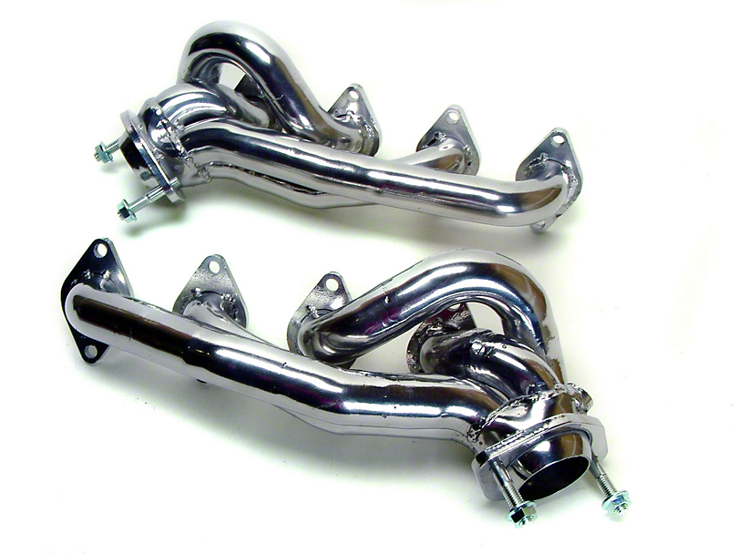 MAC 1-5/8 in. Polished Ceramic Shorty Headers (05-10 GT)
