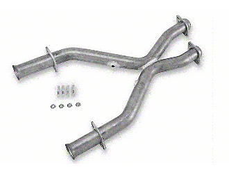 MAC 2.5 in. Aluminized Steel Off-Road X-Pipe (96-98 GT w/ Long Tube Headers)