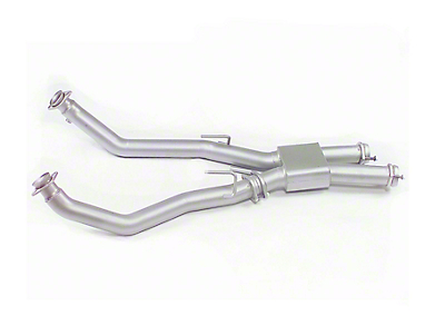 MAC 3 in. Off-Road Pro Chamber Mid Pipe (79-93 5.0L)