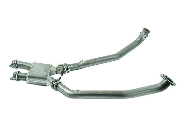 MAC Aluminized Steel Off-Road Pro Chamber Mid Pipe (96-98 Cobra)