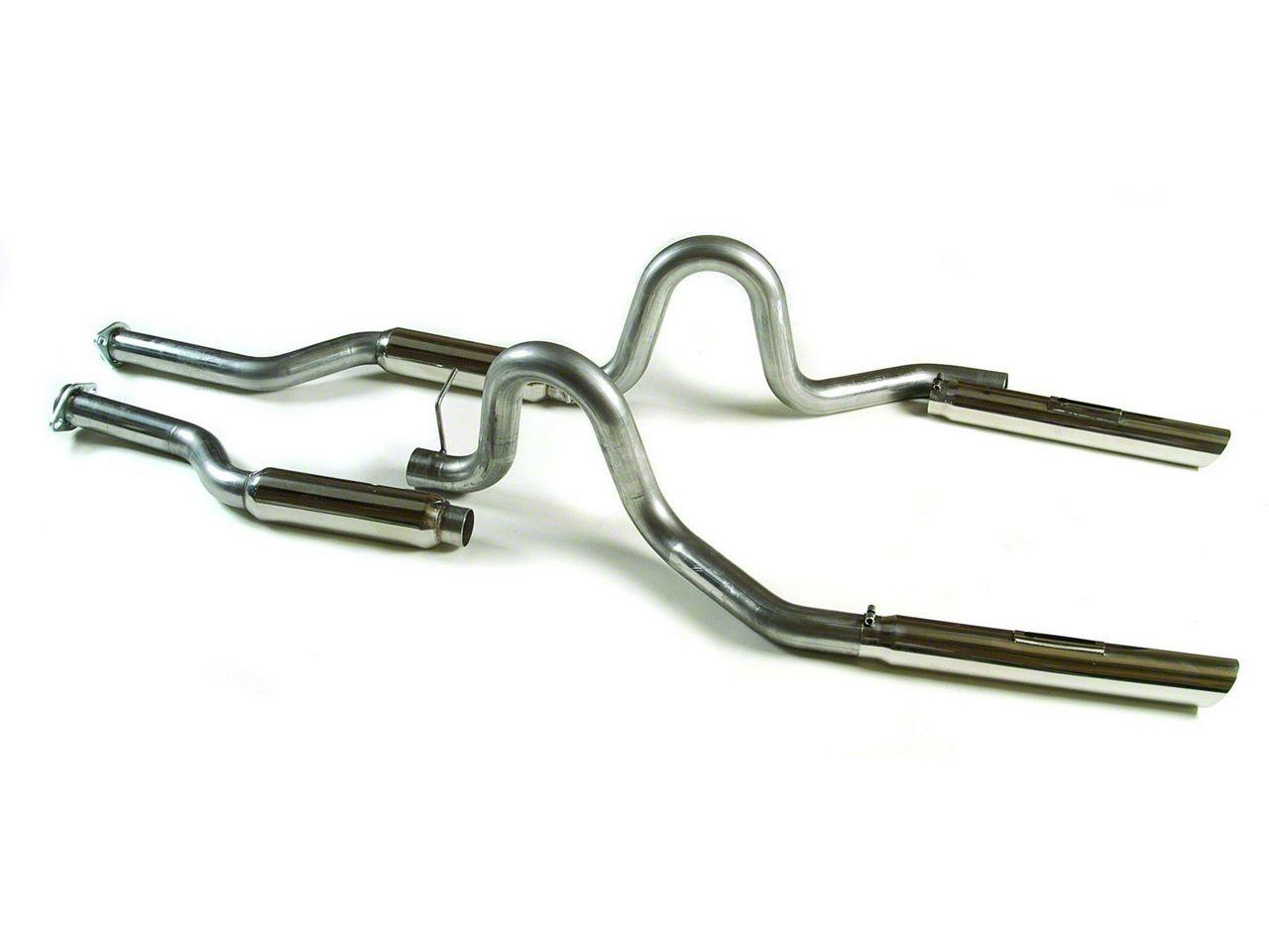 MAC Boom Tube Cat-Back Exhaust (79-93 LX; 94-95 GT; 94-04 V6)