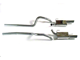 MAC Cat-Back Exhaust (07-10 GT500)