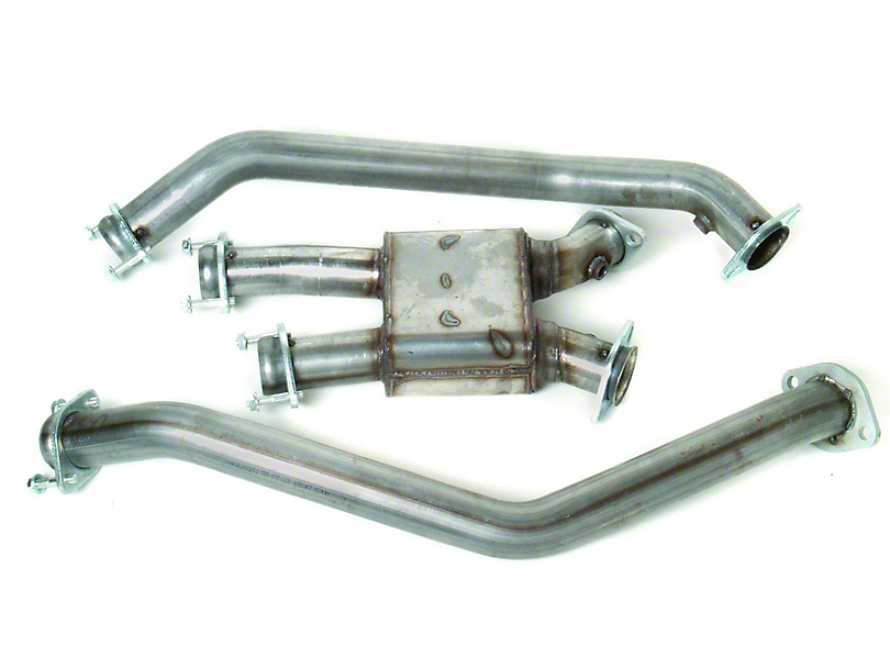 MAC Off-Road Pro Chamber Mid Pipe (99-04 GT, Cobra)