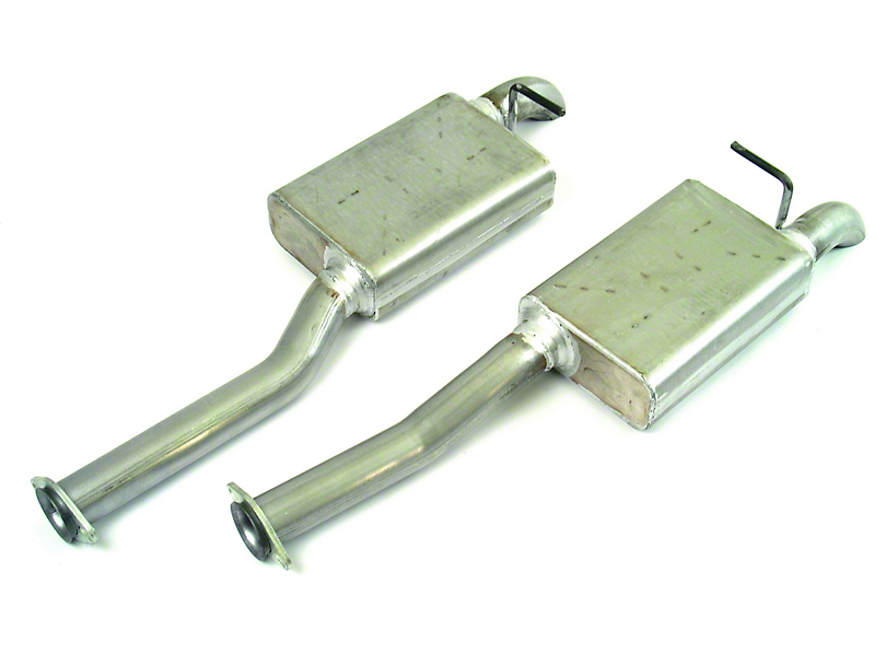 MAC 2.5 in. Aluminized Steel Pro Dump Cat-Back Exhaust (96-04 GT; 96-98 Cobra)
