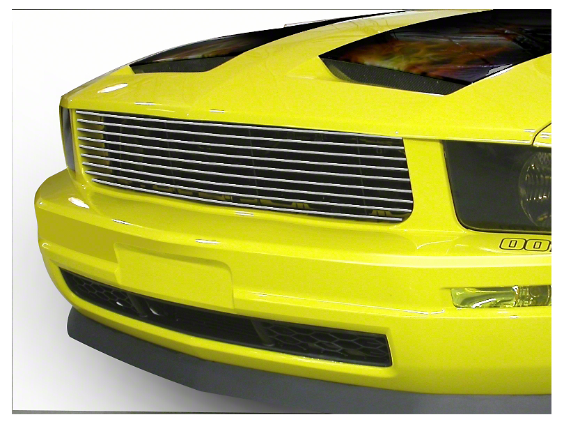 CDC Upper Replacement Grille - Brushed (05-09 V6)