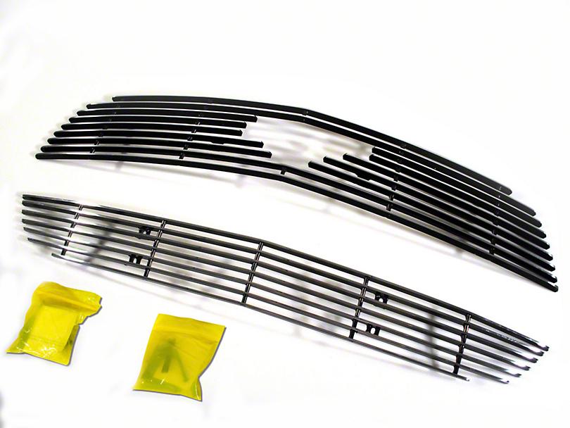 CDC Silver Upper & Lower Overlay Grilles (10-12 V6)