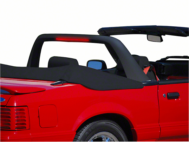 Cdc mustang convertible lightbar carbon fiber 101431 90 93 cdc classic light bar carbon fiber 90 93 convertible aloadofball Images