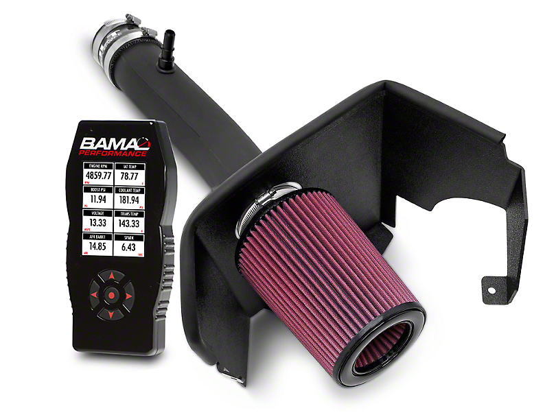 JLT Performance Cold Air Intake & BAMA X4 Tuner (11-14 V6)