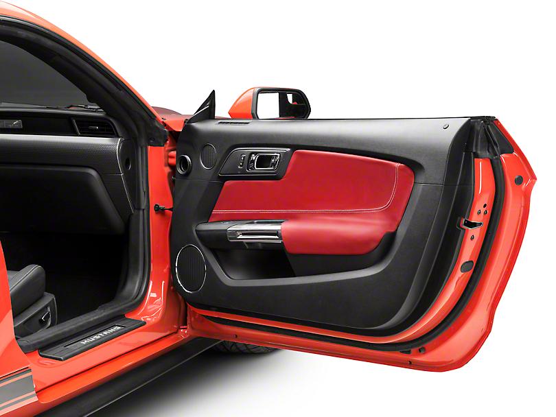 Alterum Door Insert & Armrest Covers - Red (15-19 All)