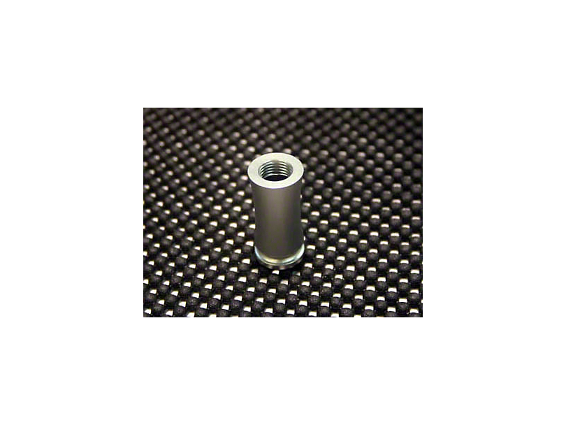 SHR Tru-Billet Tube Style Shift Boot Adapter - Silver Anodize (05-14 All, Excluding 10-14 GT500)