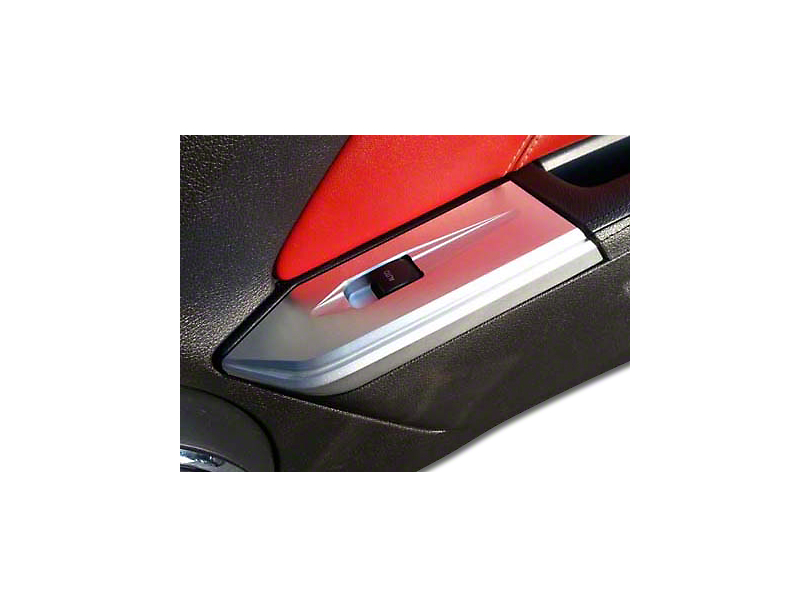 SHR Chrome Window Switch Plate (10-14 Coupe)