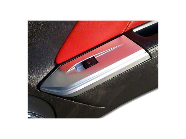SHR Chrome Window Switch Plate (10-14 Convertible)
