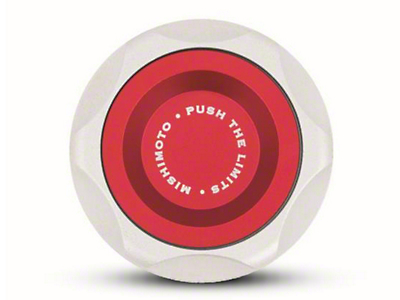 Mishimoto Oil Filler Cap - Red (87-93 5.0L; 94-01 GT)
