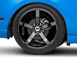 Rovos Durban Black Chrome Wheel - 20x10 - Rear Only (05-14 All)