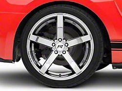 Rovos Durban Black Chrome Wheel; Rear Only; 20x10 (15-20 GT, EcoBoost, V6)