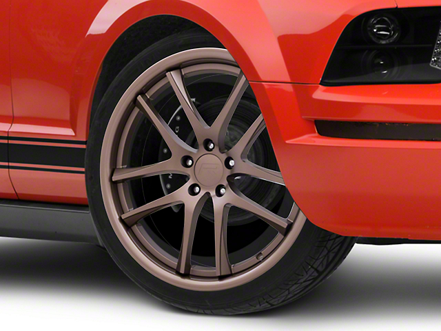 Rovos Cape Town Satin Bronze Wheel - 20x8.5 +23mm Offset (05-09 All)