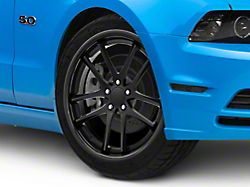 Rovos Cape Town Satin Black Wheel; 20x8.5 +20mm Offset (10-14 All)