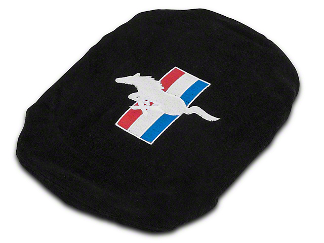 Alterum Steering Wheel Cover with Tri-Bar Pony Logo (79-20 All)