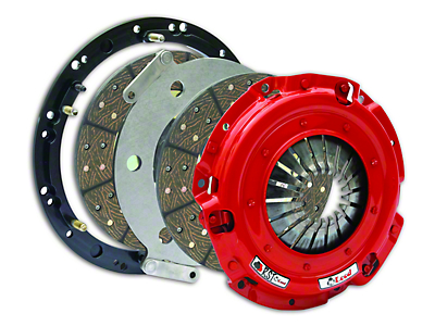 McLeod RST Twin Disc 800HP Clutch for Cable Linkage Applications - 10 Spline (86-Mid 01 GT; 93-98 Cobra)