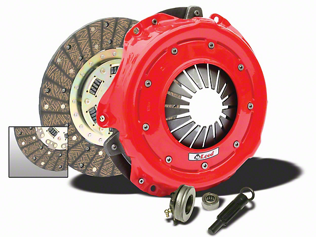 McLeod Street Pro Organic Clutch Kit; 23 Spline (11-17 GT)