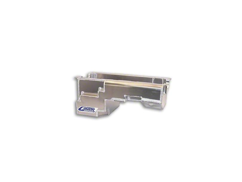 Canton Drag Pro Rear Sump Oil Pan - Aluminum (79-93 5.0L)