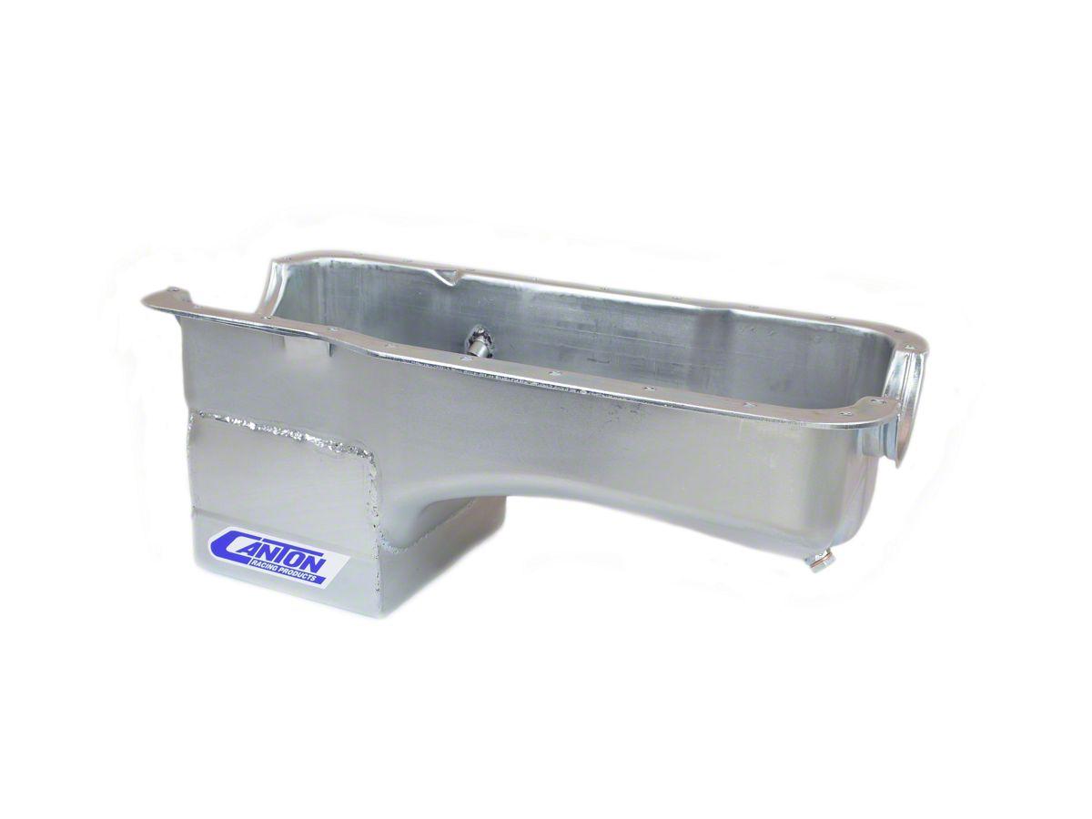 Canton Deep Rear Sump Oil Pan for use w/ Main Support Girdle - Street  (79-93 5 0L)
