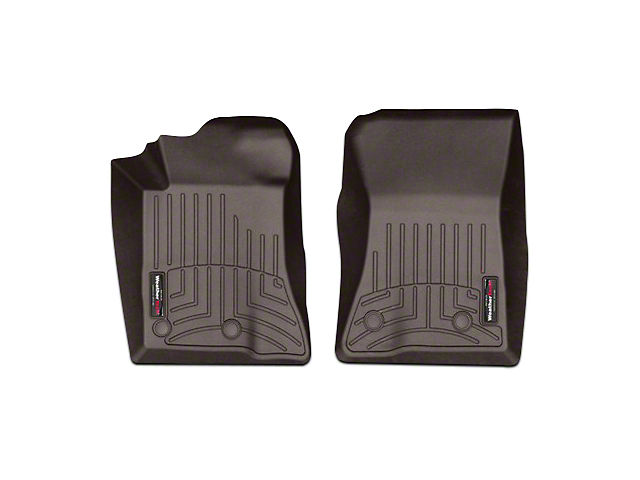 Weathertech DigitalFit Front All Weather Floor Liners - Cocoa (15-19 All)
